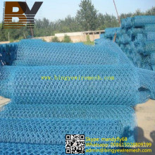 PVC Coated Gabion Mesh Hexagonal Wire Netting